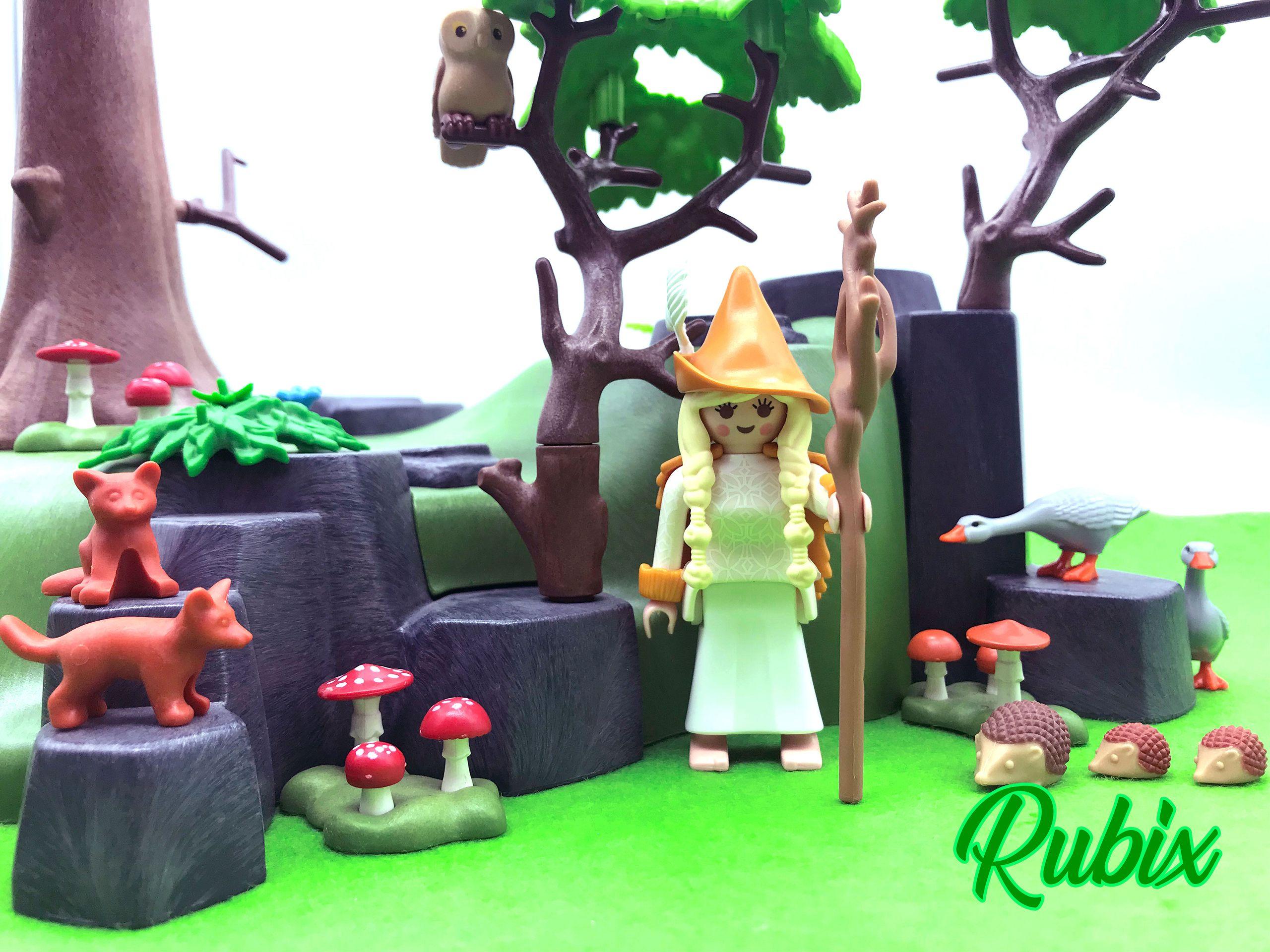 Druida de los Bosques Playmobil