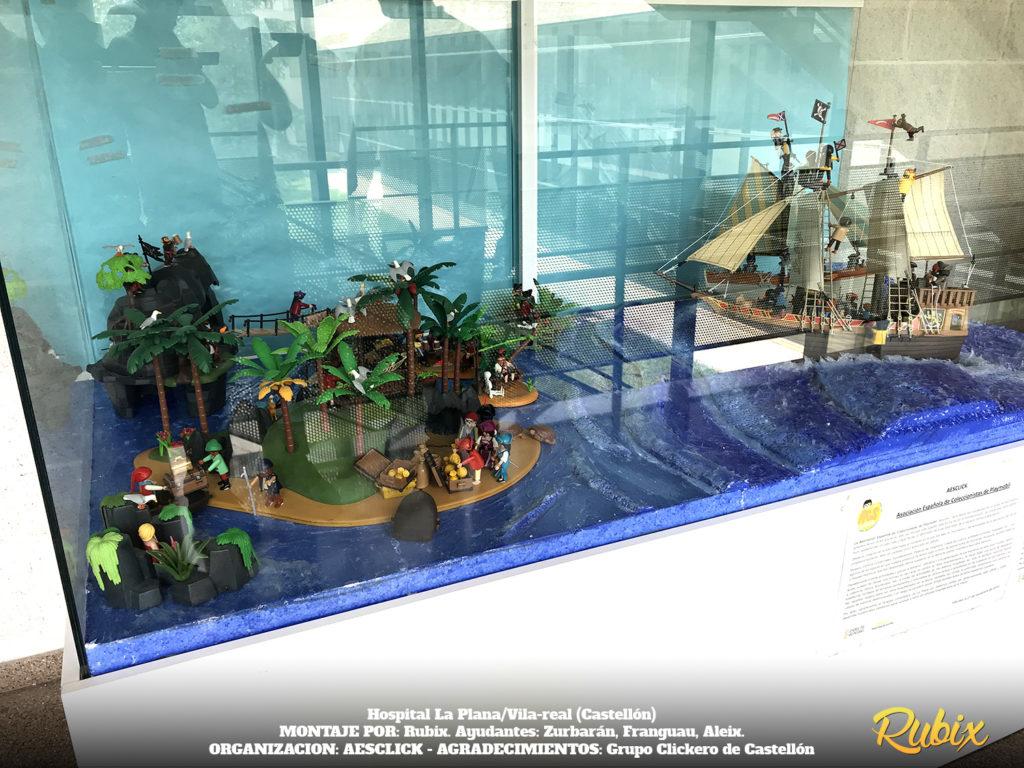playmobil piratas barco