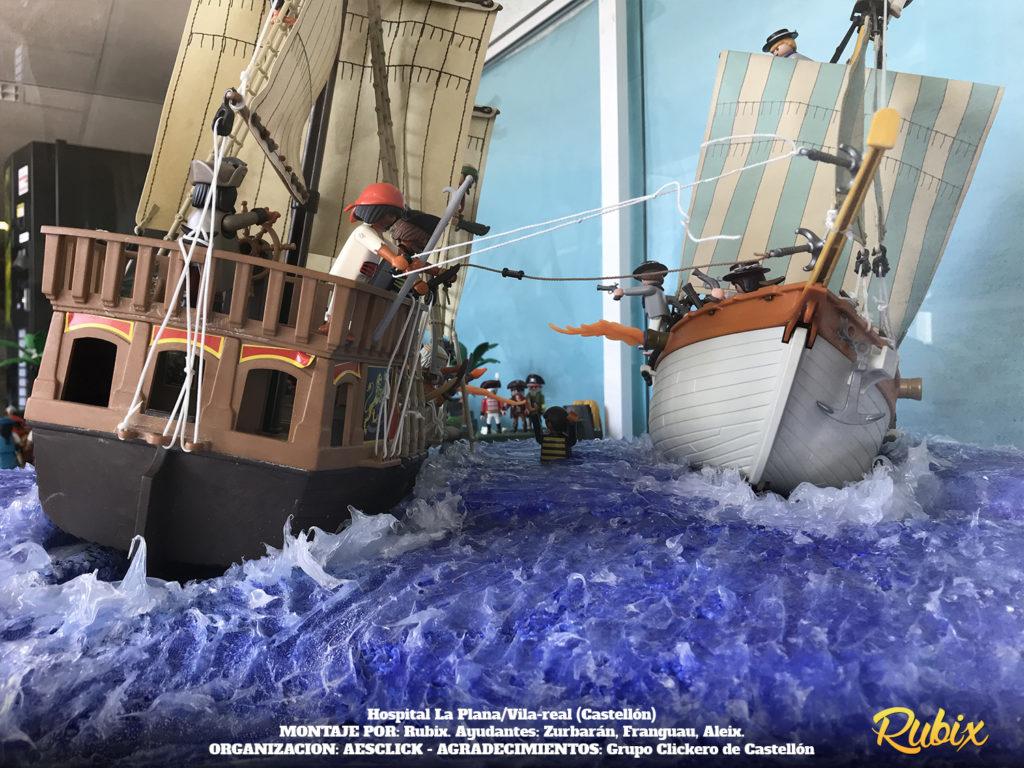 playmobil piratas barcos
