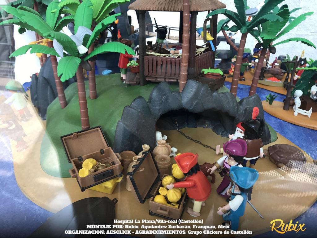 playmobil isla pirata clásica