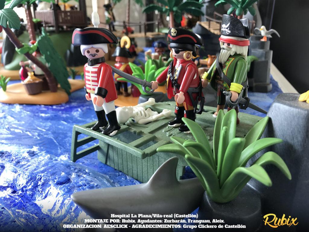 playmobil ingleses piratas