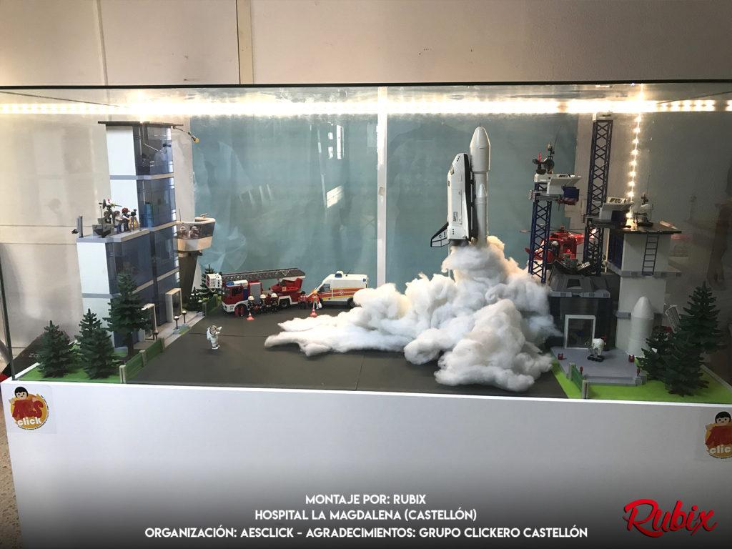 El espacio de Playmobil