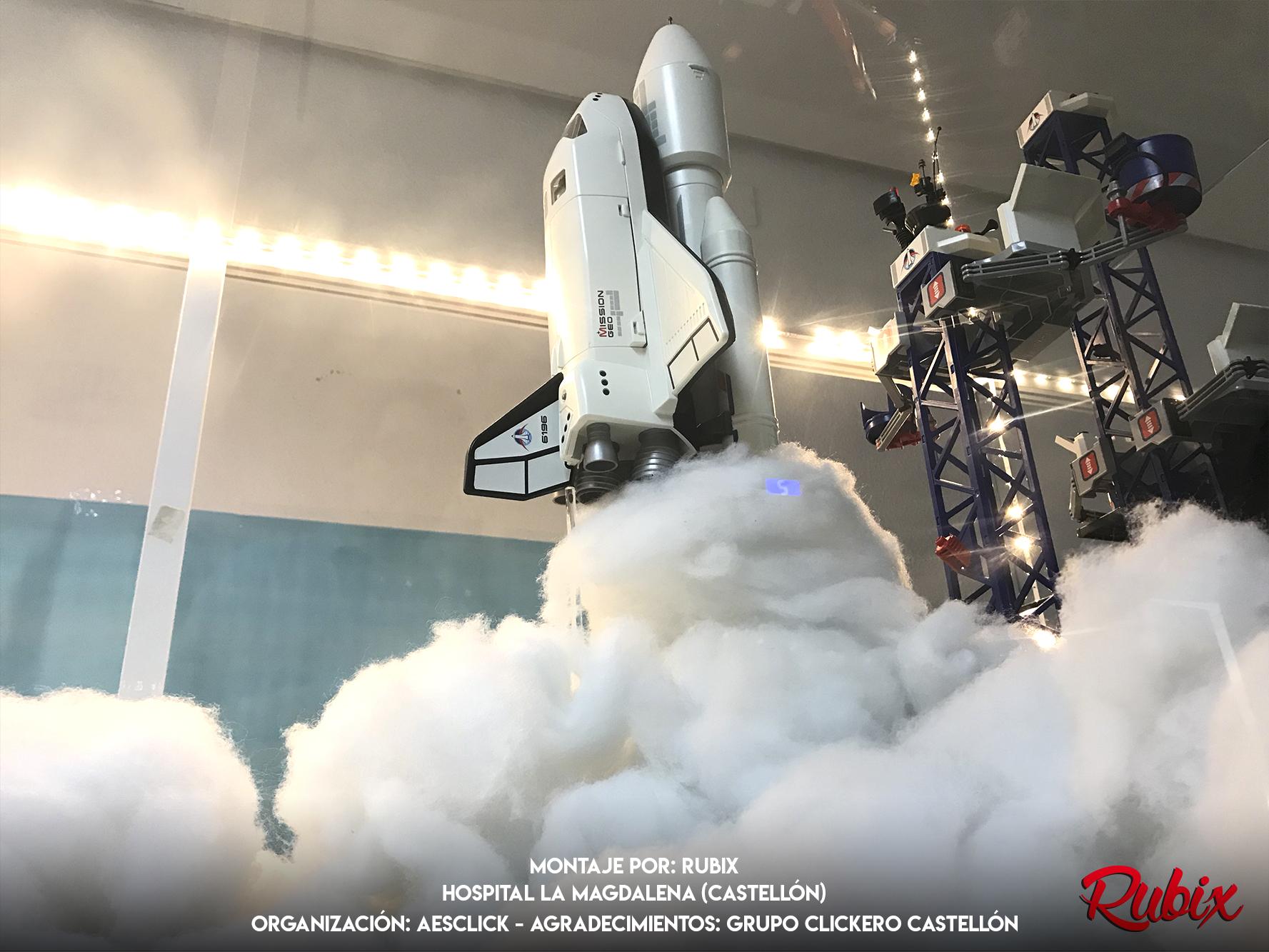 Lanzamiento Espacial Playmobil