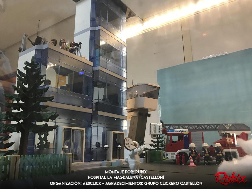 Edificio aeropuerto playmobil