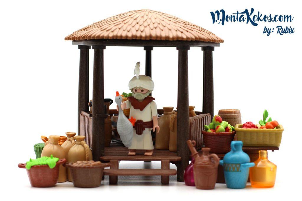 Escena Playmobil vendedor
