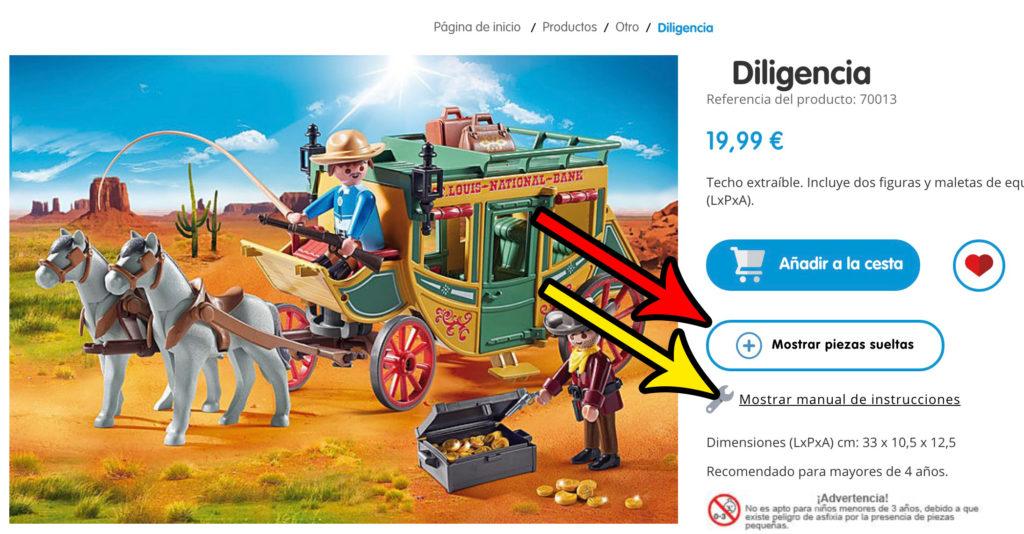 Piezas DS Playmobil