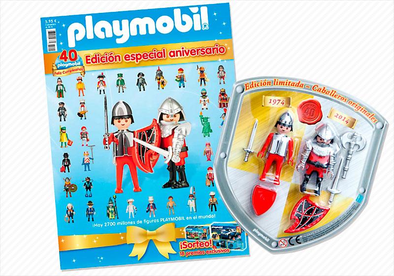 Revista 40 aniversario Playmobil