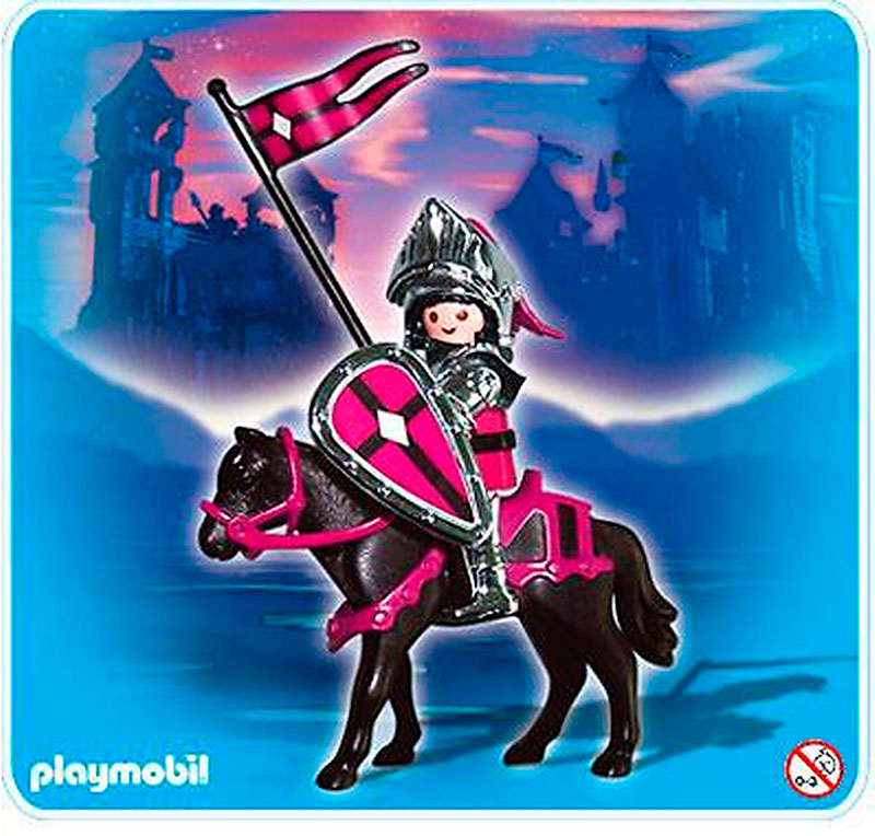 Playmobil 4434 Caballero Plateado